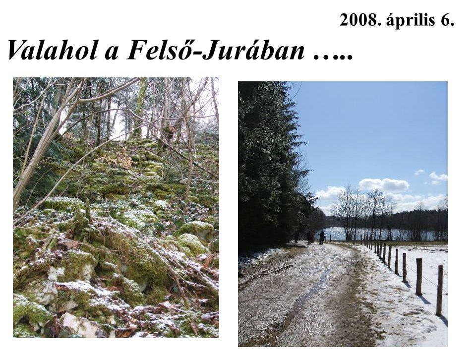 2008. április 6. Valahol a Felső-Jurában …..