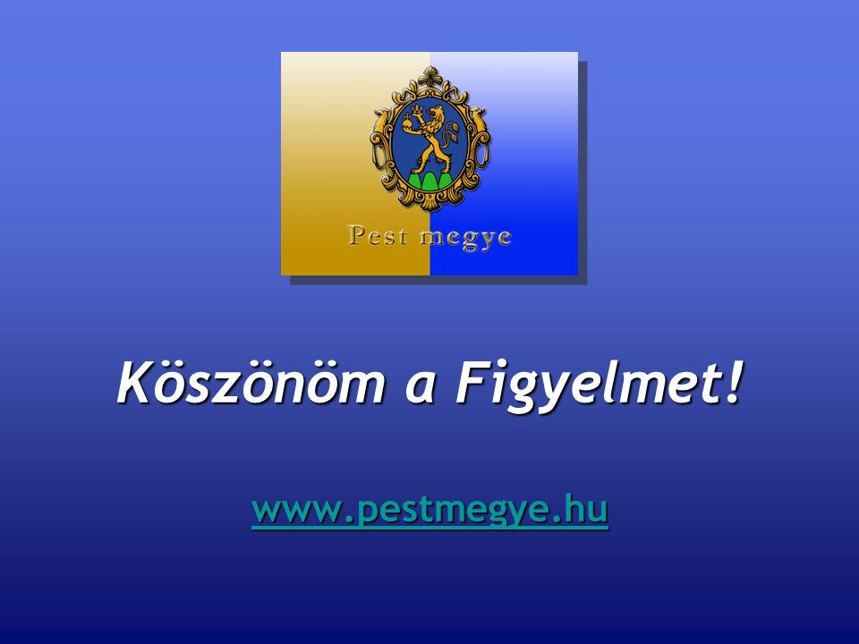 Köszönöm a Figyelmet! www.pestmegye.hu