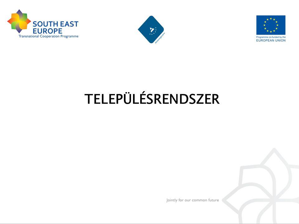 Országos pólusok kisvárosi környezettel, aprófalvakkal Kapcsolatépítő az ország kapujában (Győr, Pécs) Nagytérségi szervező központ (Győr, Pécs) Kis- és középvárosok egymást kiegészítő funkcionális hálózata Környezetorientált vidéki gazdaság Életen át tartó tanulás, gyakorlatorientált szakképzés Befogadóképes infrastruktúra és társadalom