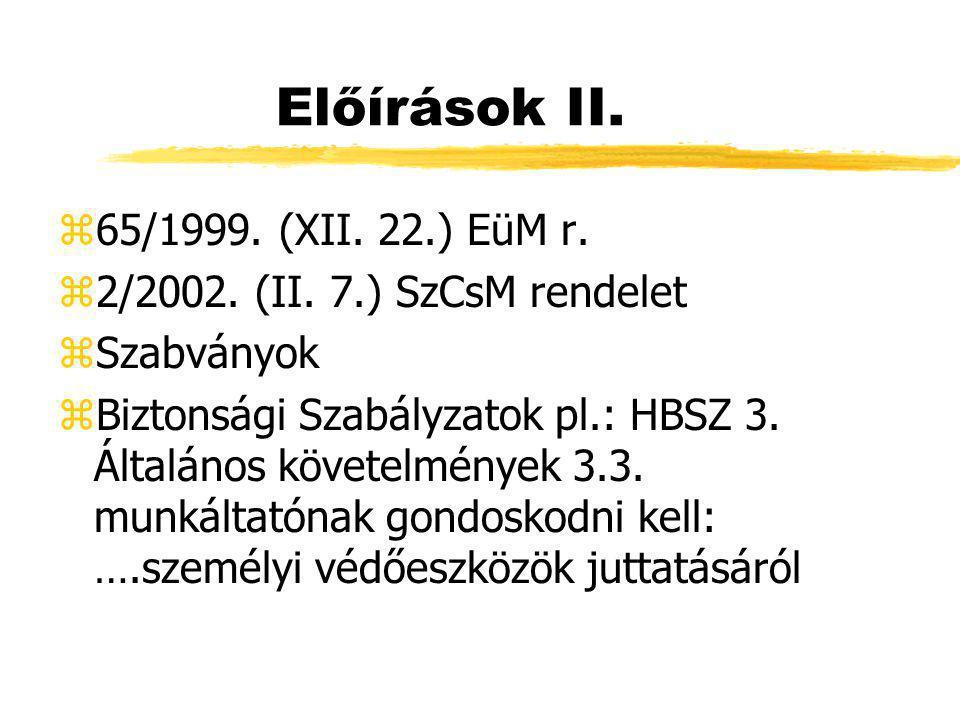 Jogszabályi háttér z1993.Évi XCIII.