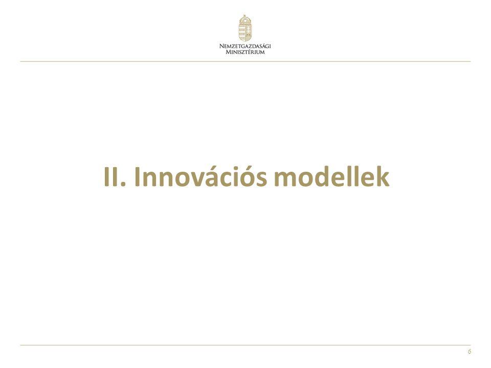 17 Az innovációs stratégia gazdaságpolitikai spektruma Forrás:Robert D.