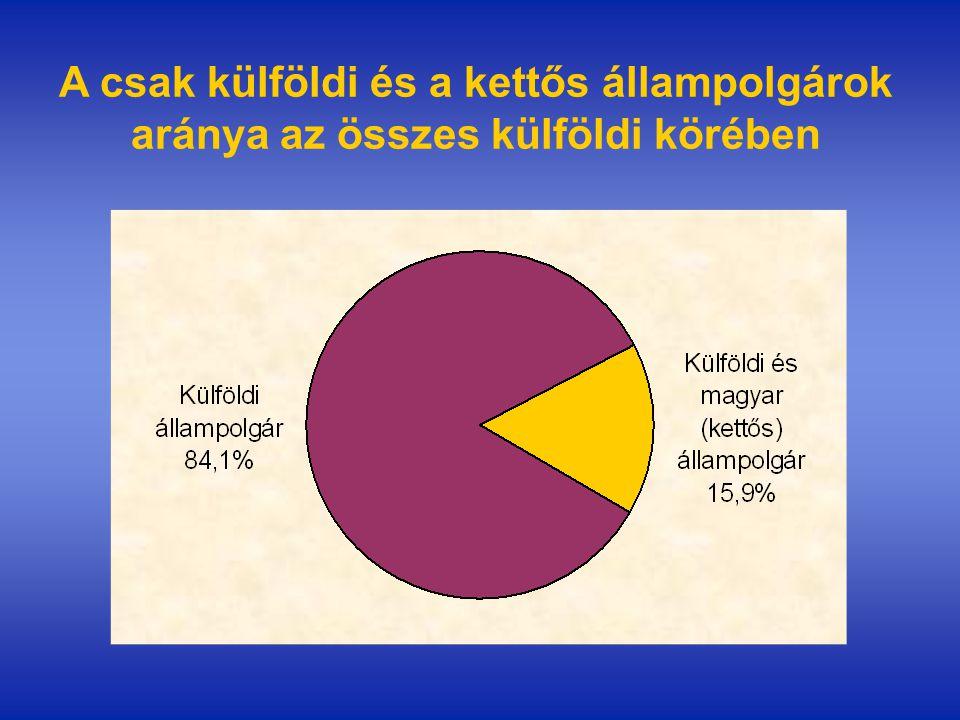 A foglalkoztatottság esélyét meghatározó tényezők a külföldi állampolgárok körében II.