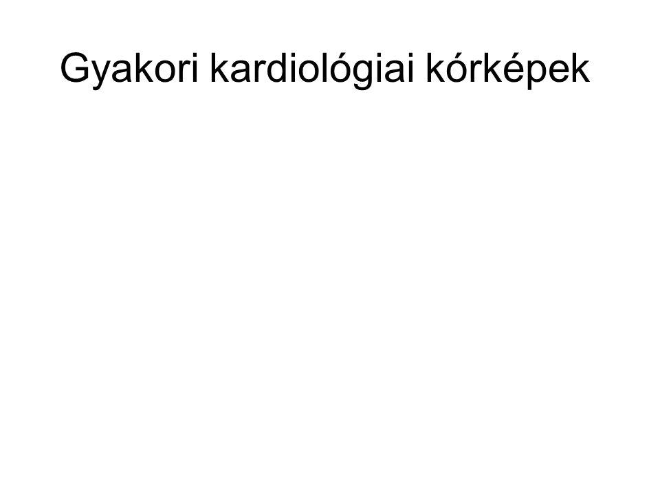 Gyakori kardiológiai kórképek
