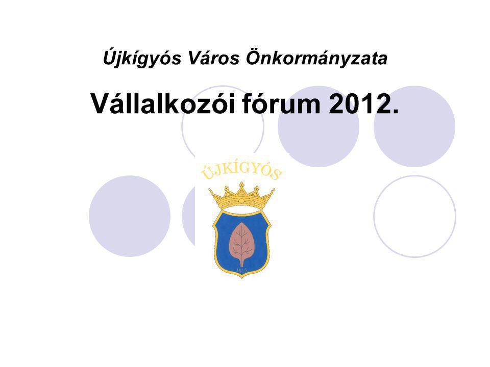Újkígyós Város Önkormányzata Vállalkozói fórum 2012.