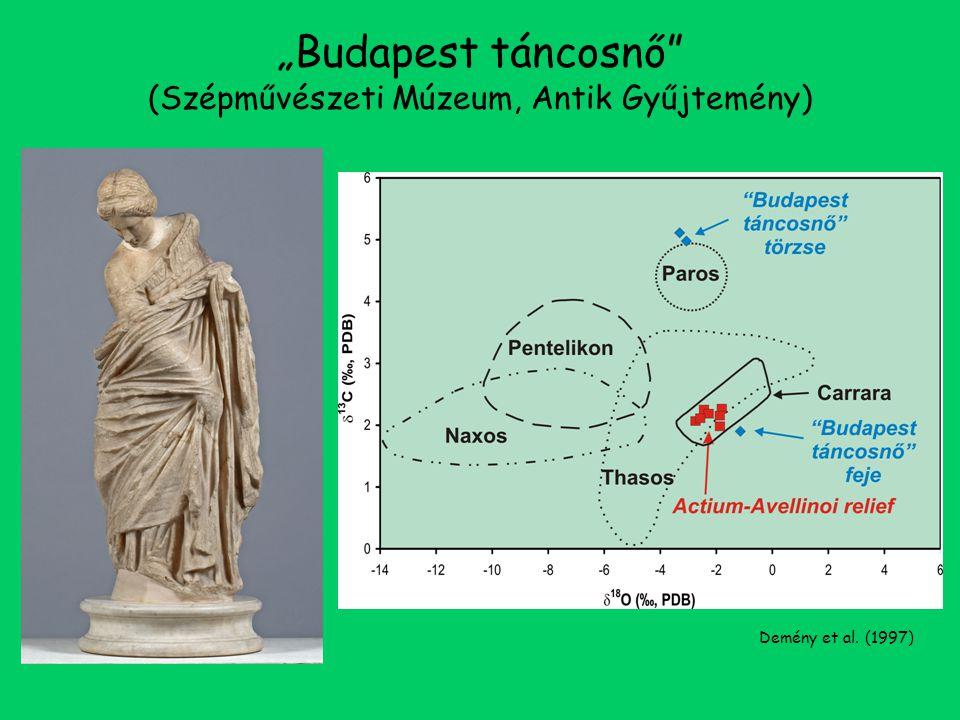 """""""Budapest táncosnő (Szépművészeti Múzeum, Antik Gyűjtemény) Demény et al. (1997)"""