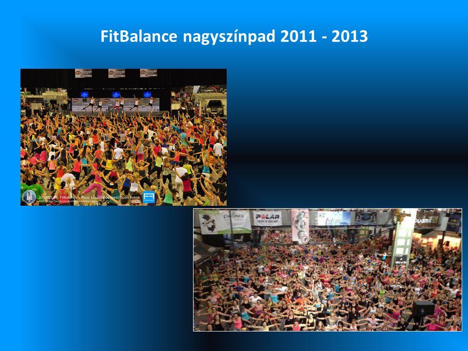FitBalance nagyszínpad 2011 - 2013