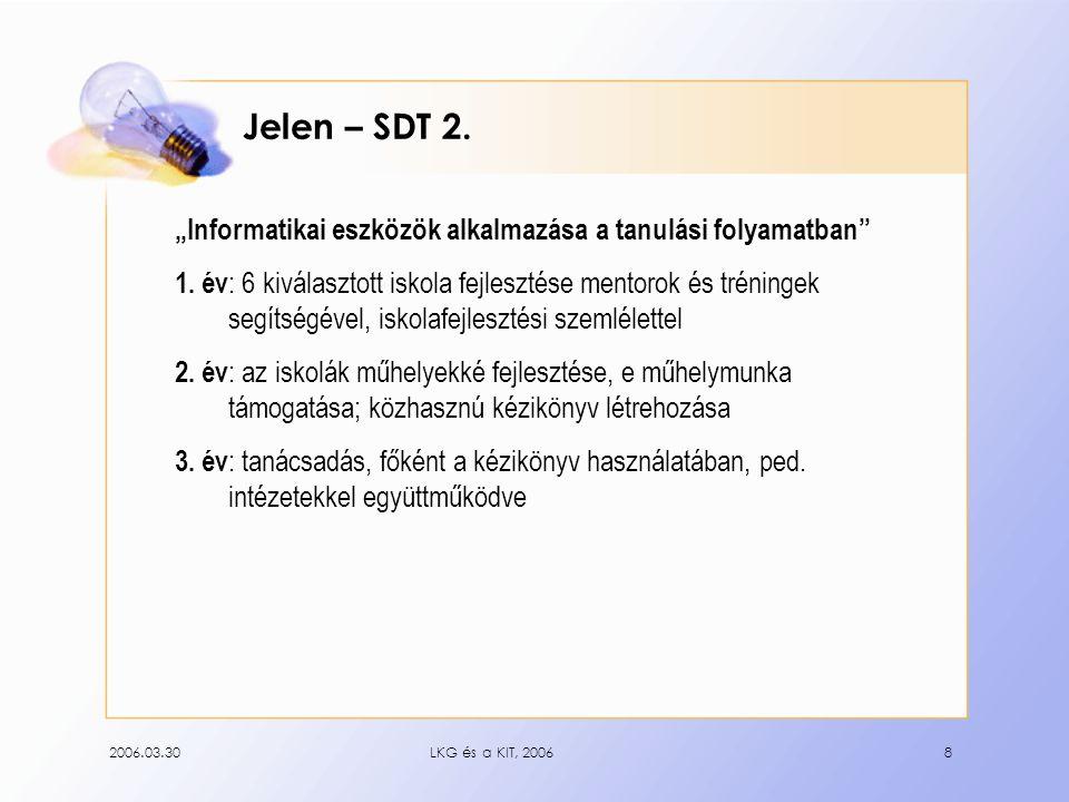2006.03.30LKG és a KIT, 20068 Jelen – SDT 2.