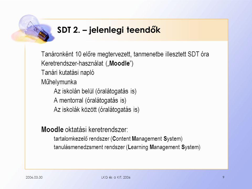 2006.03.30LKG és a KIT, 20069 SDT 2.