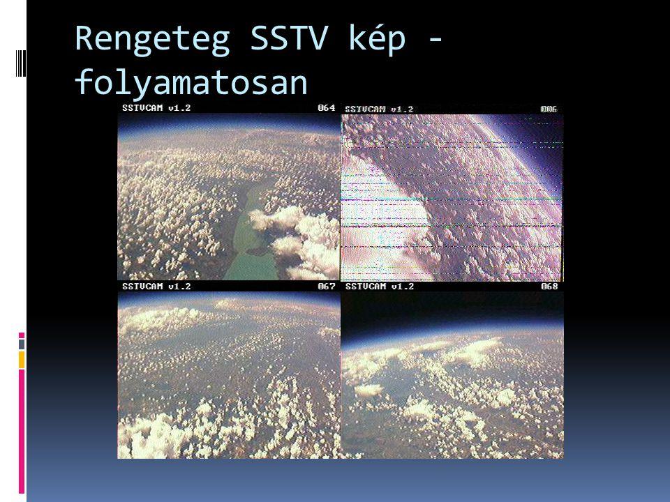 Rengeteg SSTV kép - folyamatosan