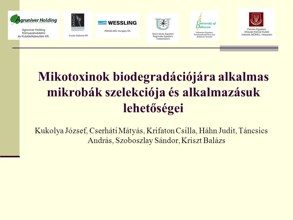 4.Fázis: A tandem tömegspektrometriával nyert peptidszekvenciák azonosítása a Rhodococcus pyridinivorans AK 37 genomjában LVTPELSGSLLPGITR10,002077Contig_16100Contig_16100 TMIQSPSGVILQEAADVHAR12,55596Contig_1867Contig_1867 ADVLTTGAGNPVGDK16,32116Contig_3453Contig_3480 FSTVAGESGSADTVR20,358313Contig_3580Contig_3580 DLPIYVVCPGR10,036984Contig_3791Contig_37100 ISGVGIDQPPYGIFVINQK13,62421Contig_4256Contig_4269 AQSILEKSGVNPDIR10,265346Contig_4967Contig_4987 AEIEGEMGDSHVGLQAR10,000159Contig_7100Contig_7100 ALELALAQIDK12,01249Contig_7100Contig_7100 EGSLIDMGVEQGFIR10,002031Contig_7100Contig_7100 FLLENTDVRDEIEK10,022029Contig_7100Contig_7100 IGVMFGSPETTTGGK10,004303Contig_7100Contig_7100 MTGALNNSGTTAIFINQLR19,76E-06Contig_7100Contig_7100 QAEFDILYGQGISK10,005468Contig_7100Contig_7100 SAAIDVIVIDSVAALVPR10,00487Contig_783Contig_794 SGSWYTYEGDQLGQGK10,000106Contig_7100Contig_7100 Peptid szekvencia találat E-value Contig Ident.% Posit.%