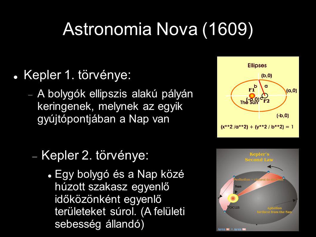 Astronomia Nova (1609) Kepler 1.