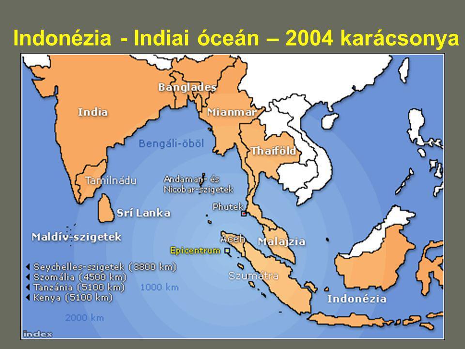 Indonézia - Indiai óceán – 2004 karácsonya