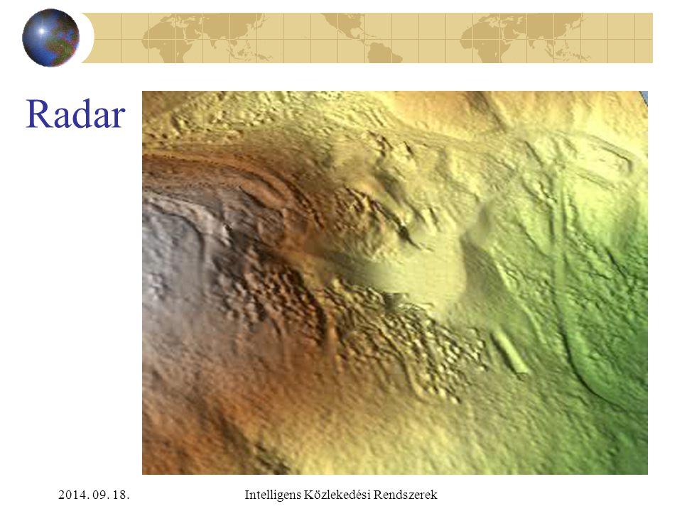 2014. 09. 18.Intelligens Közlekedési Rendszerek Radar