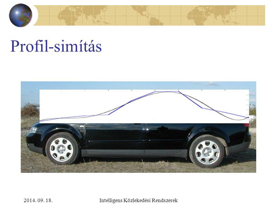 2014. 09. 18.Intelligens Közlekedési Rendszerek Profilok Személyautó kamion MPV