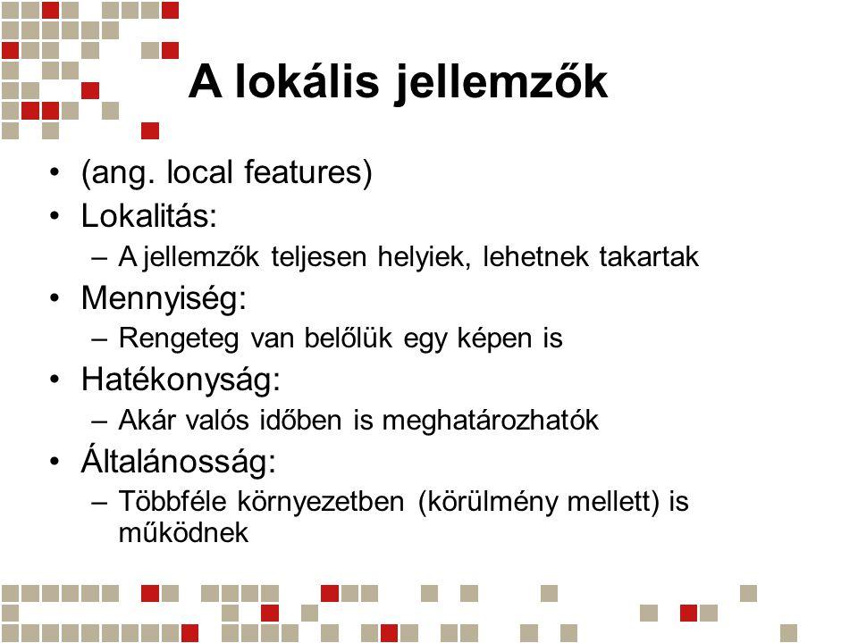 A lokális jellemzők (ang.