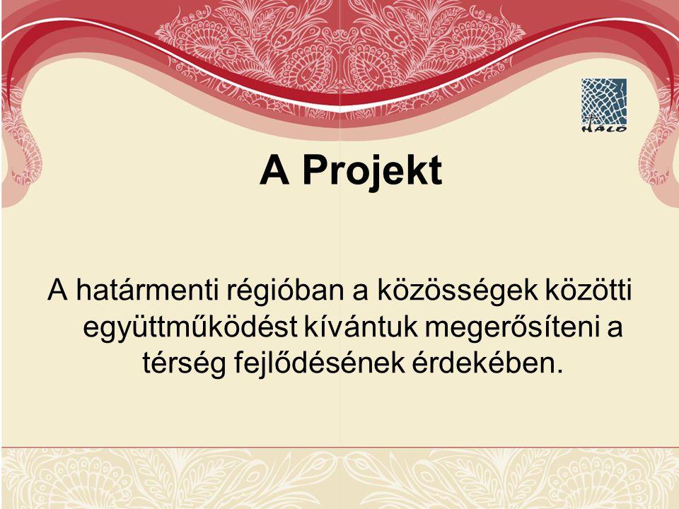 A Projekt A határmenti régióban a közösségek közötti együttműködést kívántuk megerősíteni a térség fejlődésének érdekében.