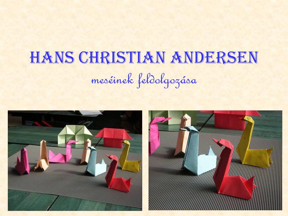 Hans Christian Andersen meséinek feldolgozása