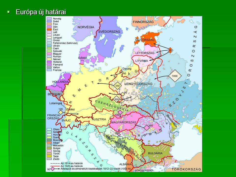  Európa új határai