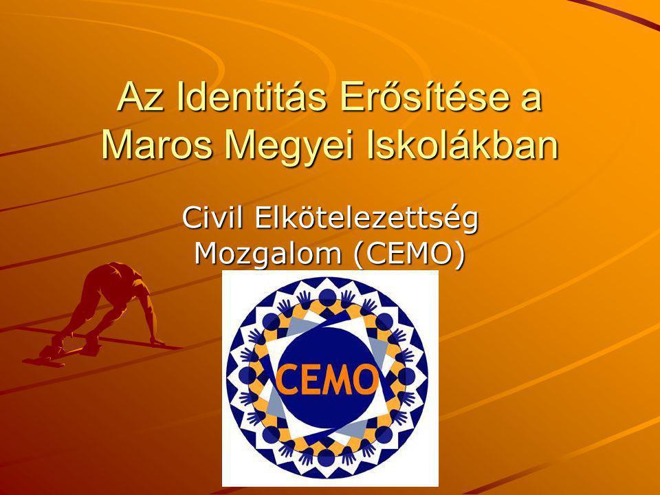 Az Identitás Erősítése a Maros Megyei Iskolákban Civil Elkötelezettség Mozgalom (CEMO)