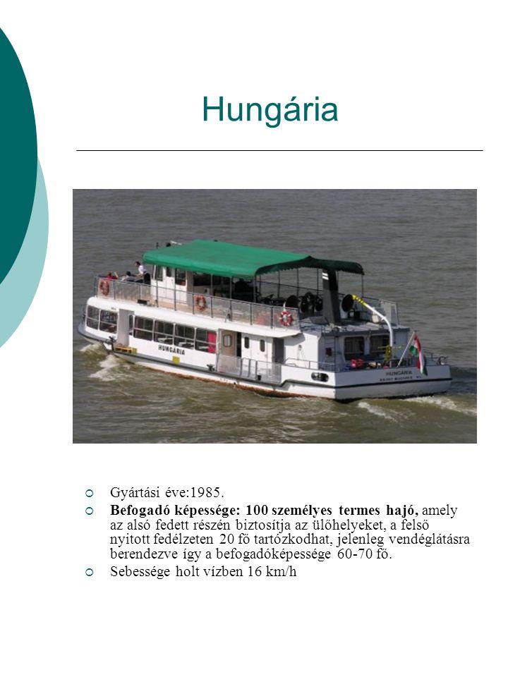 Hungária  Gyártási éve:1985.
