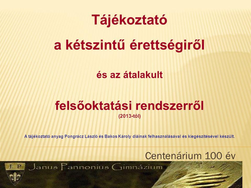 Centenárium 100 év A Sokk