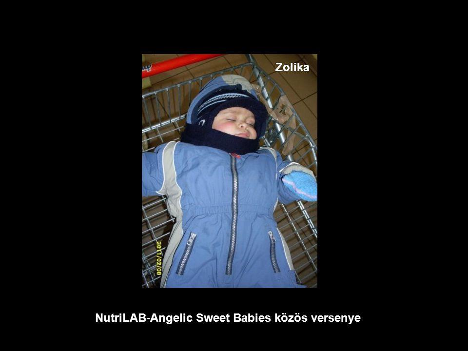 NutriLAB-Angelic Sweet Babies közös versenye Sándor