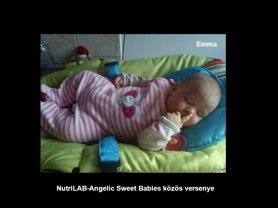 NutriLAB-Angelic Sweet Babies közös versenye Edina