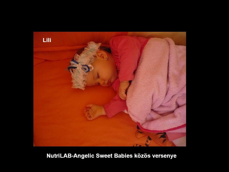 NutriLAB-Angelic Sweet Babies közös versenye Emma