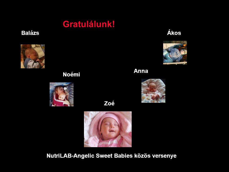 NutriLAB-Angelic Sweet Babies közös versenye Lili
