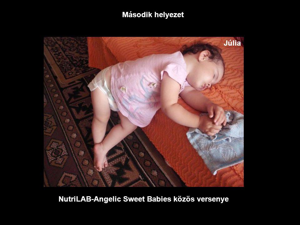 NutriLAB-Angelic Sweet Babies közös versenye Legszundibb fotó Dominik