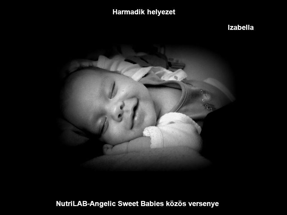 NutriLAB-Angelic Sweet Babies közös versenye Második helyezet Júlia