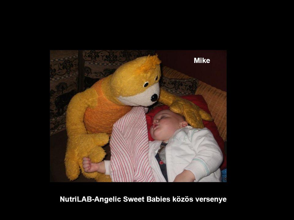 NutriLAB-Angelic Sweet Babies közös versenye Boglárka
