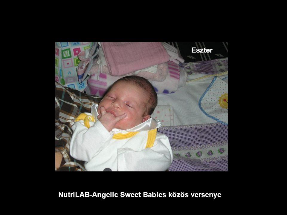 NutriLAB-Angelic Sweet Babies közös versenye Mike