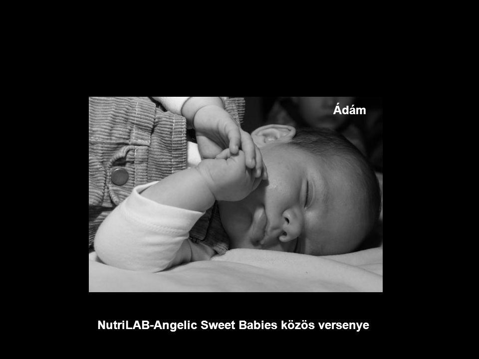 NutriLAB-Angelic Sweet Babies közös versenye Eszter