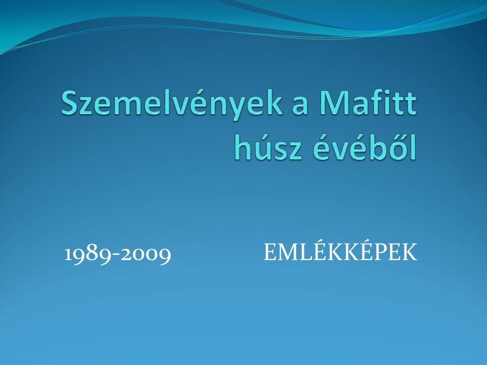 A MAFITT 1989-es alakuló ülésén: dr.Soóky Dezső, dr.