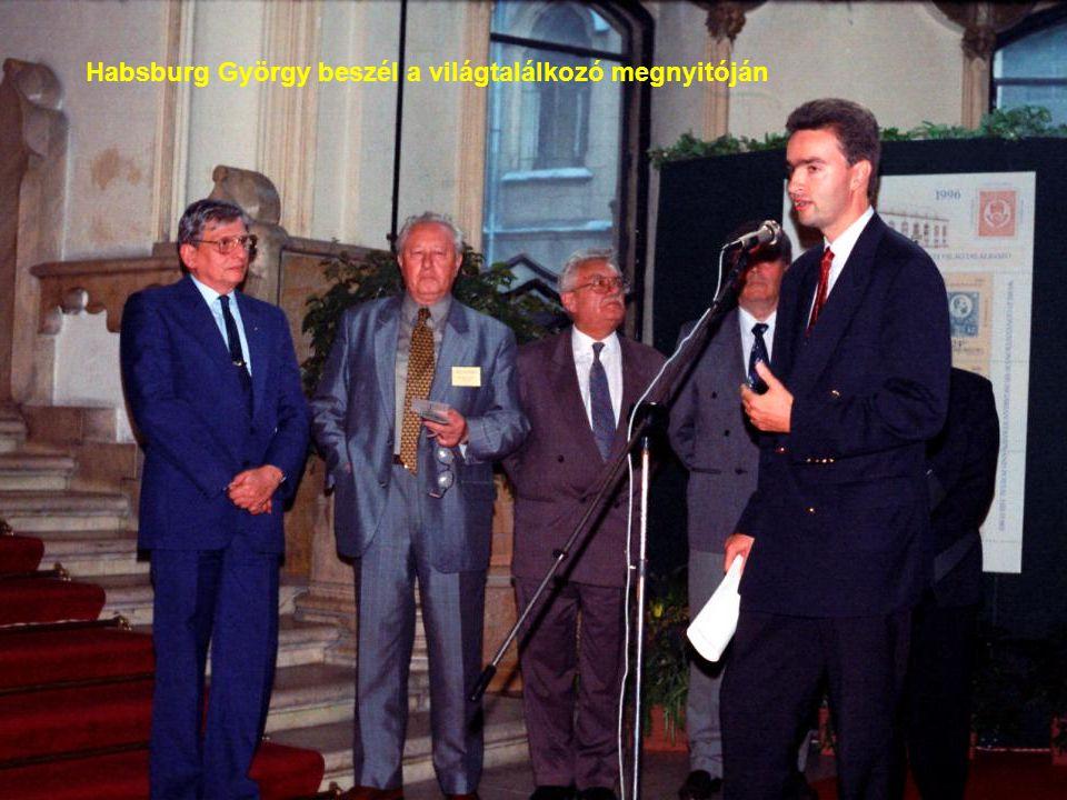 Habsburg György beszél a világtalálkozó megnyitóján