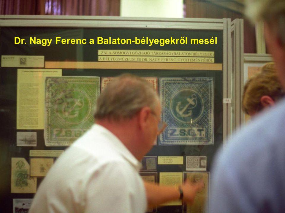 Dr. Nagy Ferenc a Balaton-bélyegekről mesél