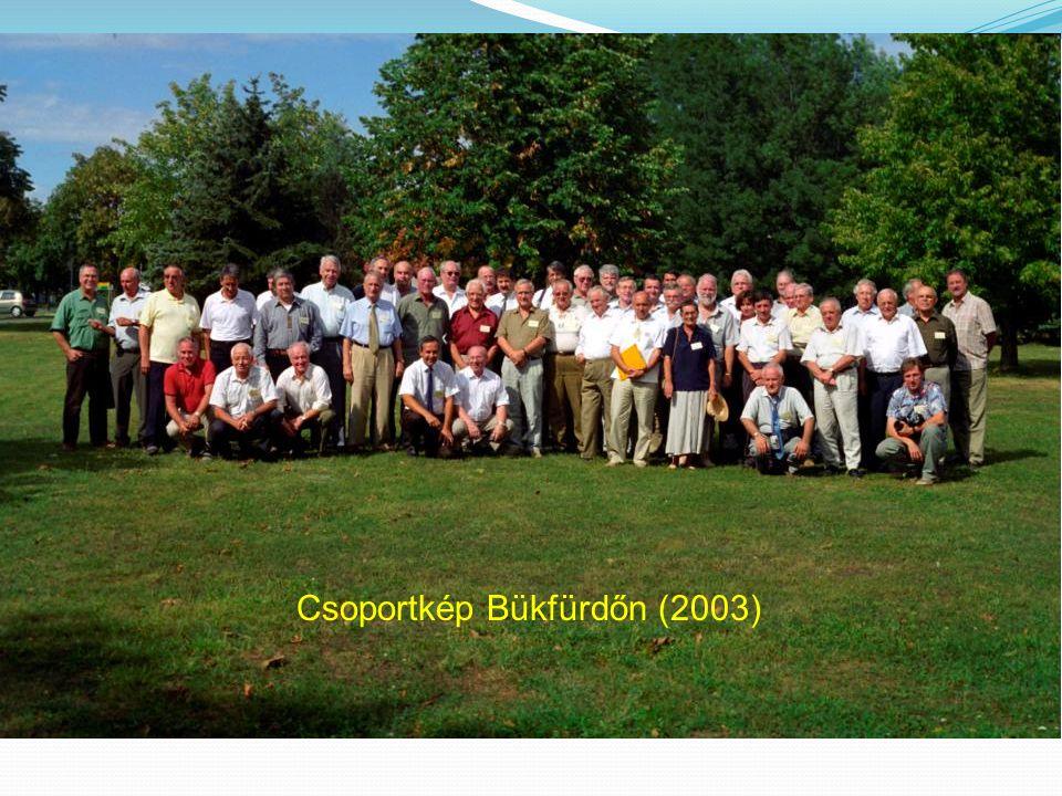 Csoportkép Bükfürdőn (2003)