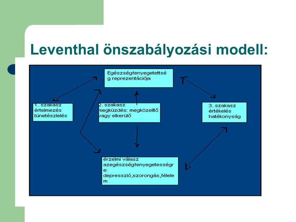 Leventhal önszabályozási modell:
