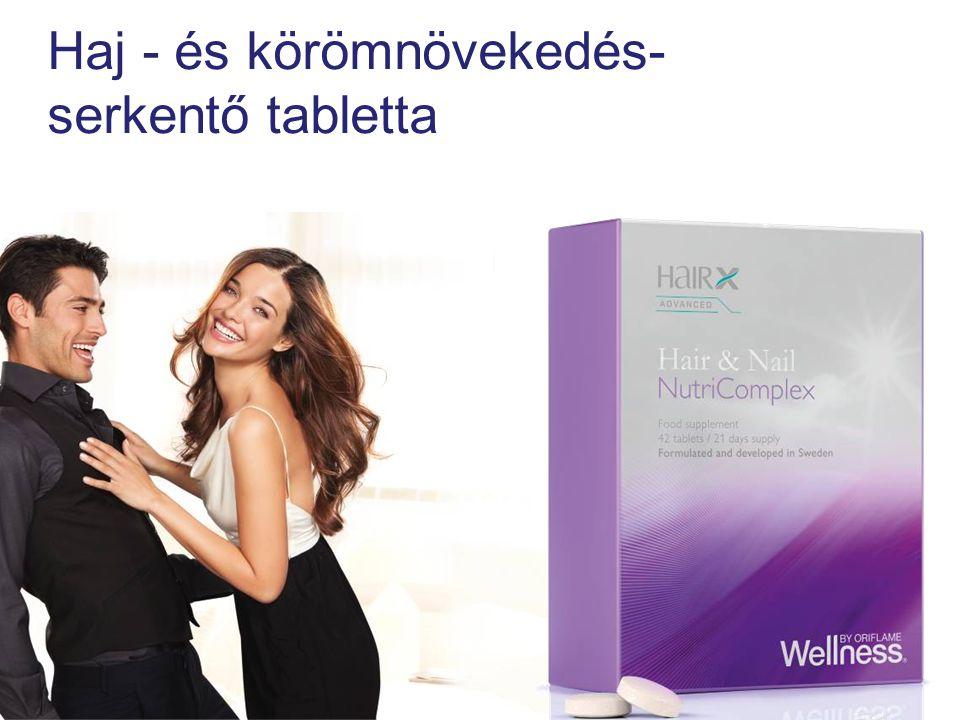 Haj - és körömnövekedés- serkentő tabletta