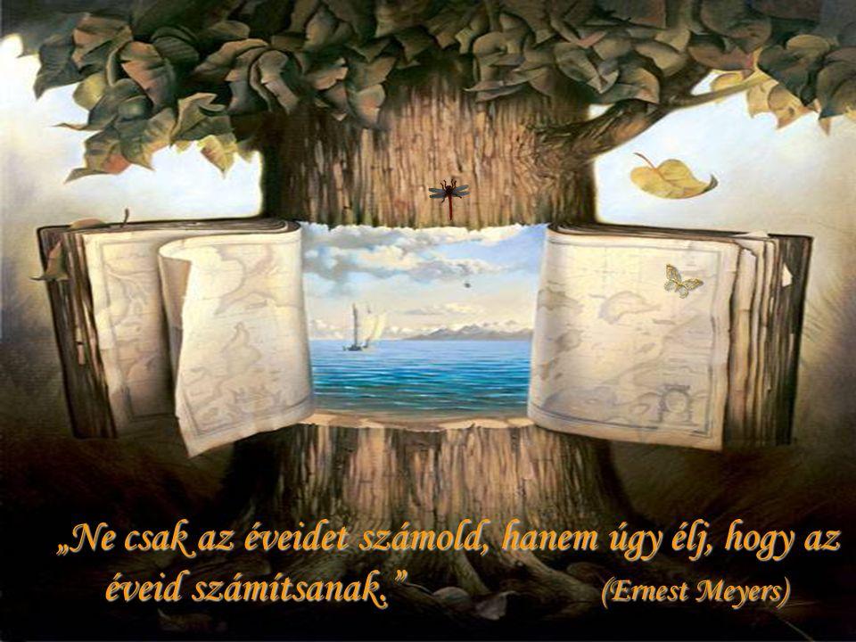 """""""Ne csak az éveidet számold, hanem úgy élj, hogy az éveid számítsanak. (Ernest Meyers) """"Ne csak az éveidet számold, hanem úgy élj, hogy az éveid számítsanak. (Ernest Meyers)"""