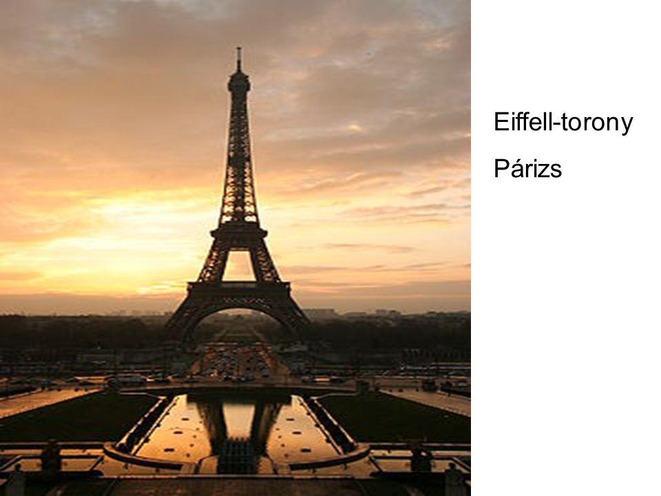 Eiffell-torony Párizs
