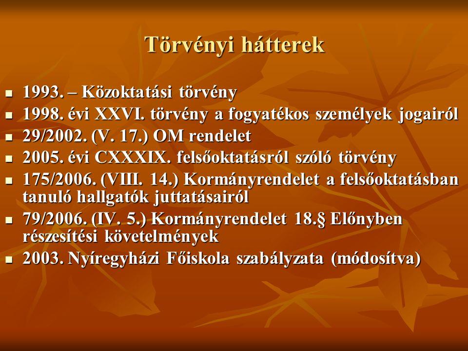 Törvényi hátterek 1993. – Közoktatási törvény 1993.