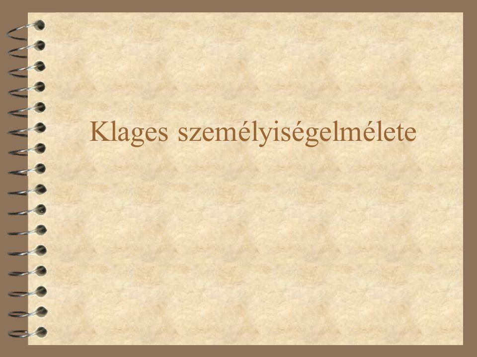 Ludwig Klages (1872-1956) Filozófus, pszichológus, grafológus.