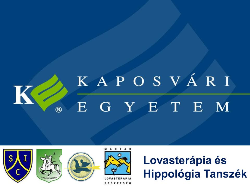 Lovasterápia és Hippológia Tanszék