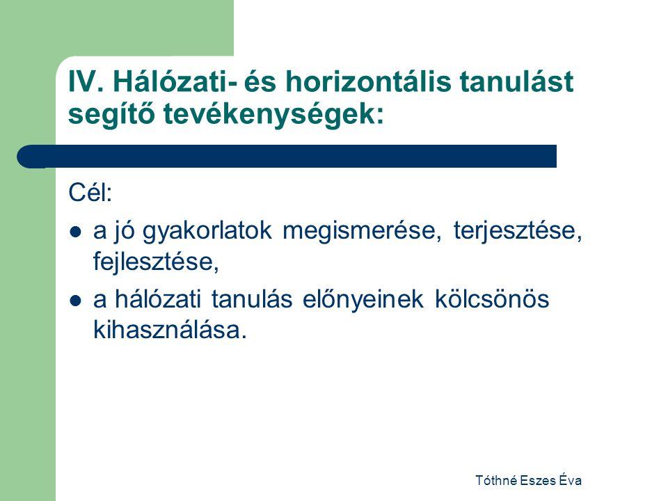 Tóthné Eszes Éva IV.