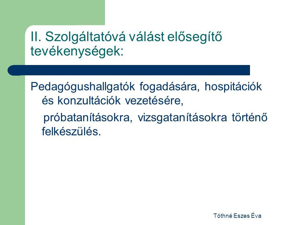 Tóthné Eszes Éva II.