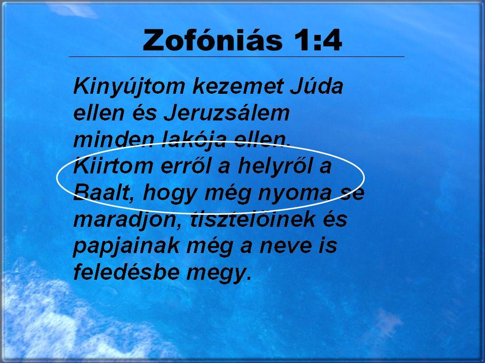 Zofóniás 1:4