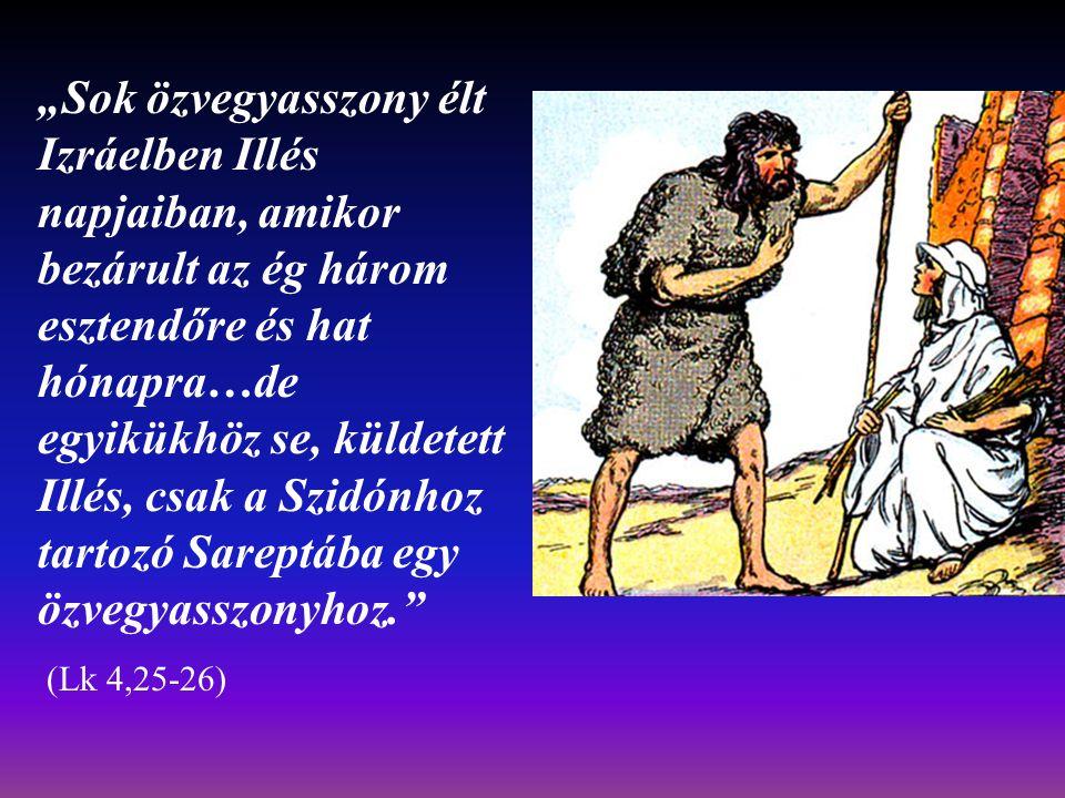 """""""A lisztesfazék nem ürült ki, az olajoskorsó sem fogyott ki, az Úr ígérete szerint. """"The jar of flour was not used up and the jug of oil did not run dry, in keeping with the word of the Lord."""