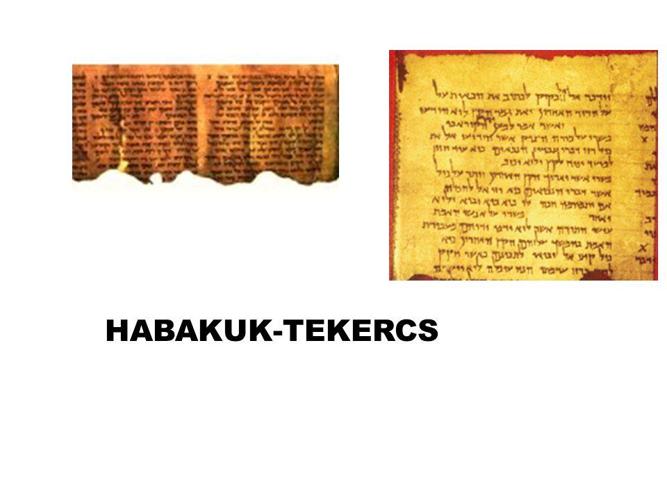 HABAKUK-TEKERCS